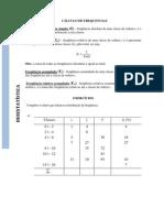 Aula 3 - Estatística -Cálculo de Frequências
