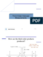 Third Order Intercept IOP3