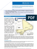 Mali Situation Report - August 14