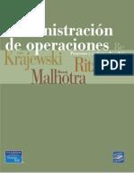 KRAJEWSKI. Administración de Operaciones. Procesos y Cadenas de Valor