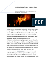 Planet Inspired Simulating Fires to Prevent Them