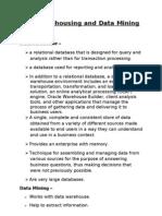 Data Warehouse concept builder