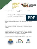 Comunicado de Prensa FILCR Autores independientes