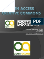 open access / creative commons