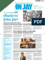 @ John Jay Newsletter (August, 2012)