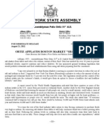 Boston Market Shakedown Press Release