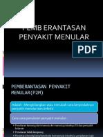 Pemberantasan Penyakit Menular(p2m)