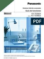 Guia de Funciones Panasonic KX-TES824