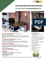 Hive 1 PDF Flyer