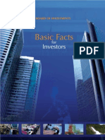 Basic Facts for Investors