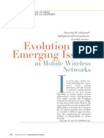 Emerging Issues in Mobile Devices