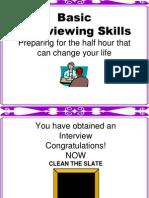 Basic Interview Skills