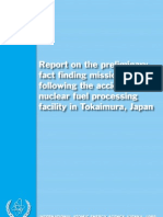 1999  Criticality accident  at the fuel conversion plant in Tokaimura in Japan