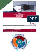 20080221 Ponencia MD ITIL V3 Diseño del Servicio