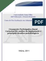 OP Rural Cariacica ES Gabriela Gilles Ferreira