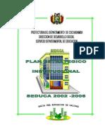 Plan Estrategico Institucional 2002