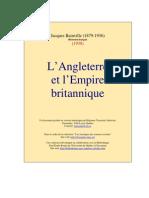 Jacques Bainville-L'Angleterre Et l'Empire Britannique