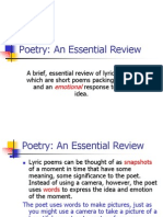 Poetry Short Review