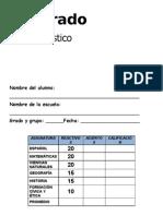 5to Grado - Diagnóstico (12-13)