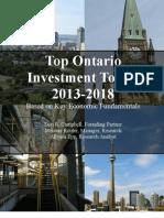 Top Ontario Towns 2012