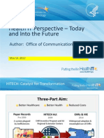 Health IT Perspective Today and Into the Future