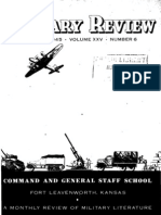 Military Review ~ Sep 1945