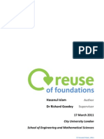Reuse of Foundations