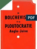 Le Bolchevisme Et La Ploutocratie Anglo-Juive