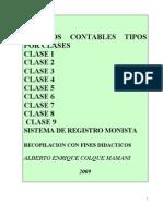 2.- Asientos Contables Tipos Por Clases
