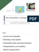 Biocombustibles y Biología Sintética