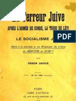 Urbain Gohier - La Terreur Juive