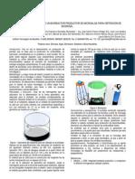 DISEÑO Y CONSTRUCCION DE UN BIORREACTOR