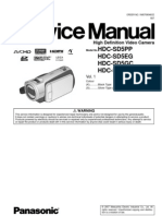 8516902-Panasonic Hdc-Sd5 Series Service Manual Repair Guide