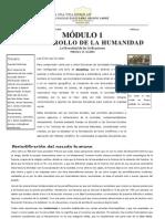 Modulo 1 - El Desarrollo de La Humanidad