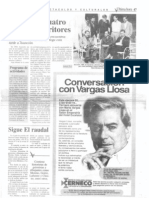 Vargas Llosa en Asunción 1965