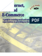 internet as a network infrastructure for e commerce