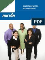 Singapore Work Visa Factsheet