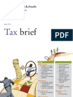 Tax Brief Sparing- April 2012