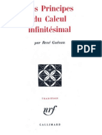 Guénon René - Les principes du calcul infinitésimal