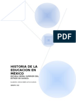 Historia d Ela Educa en Mexico
