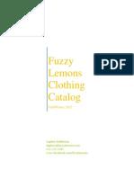 Clothing Winter 2012 Catalog