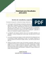 Gestión Municipal para Resultados_Hz Consultoria