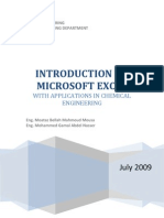 Microsoft Excel for Chemical Engineers Notes (by Moataz and Mohammed)