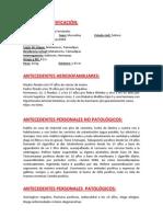Historia Clinica Gastroenterologia