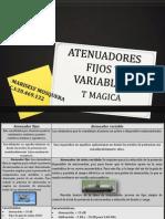 Atenuadores Fijos y Variables