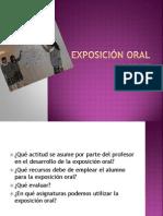 Actividad 18 La Exposición oral