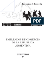 Convenio Colectivo de los Empleados de Comercio 130/75
