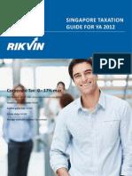Singapore Taxation Guide 2012