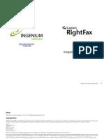 RightFax Integration Module Guide