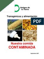 Transgenicos y Alimentacion Nuestra Comida Contaminada